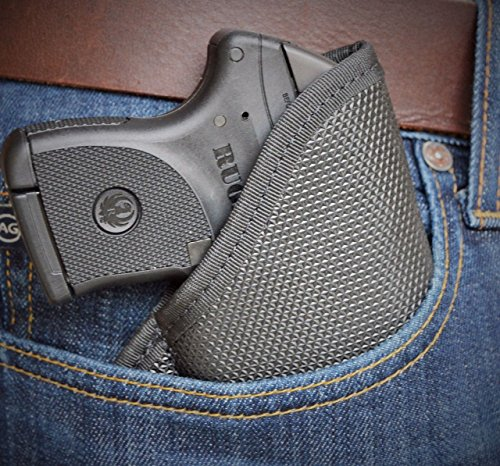 Black Diamond Laser - Soft Armor TAURUS TCP with LASER Black Diamond Pocket Holster Conceal Carry BD47