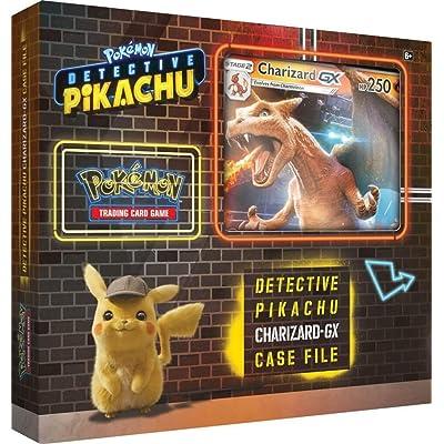 Pokemon TCG: Detective Pikachu Charizard-Gx Case File, Multicolor   Genuine Cards: Toys & Games
