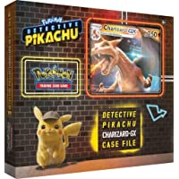 Pokemon TCG: Detective Pikachu Charizard-Gx Case File | 6 Booster Pack | A Foil Promo Card | A Foil Oversize Card