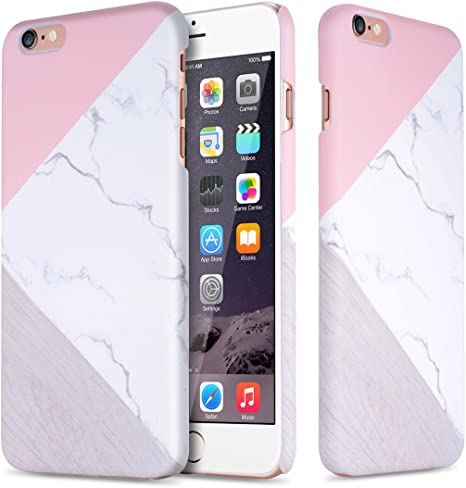 cover iphone 6s marmo rosa