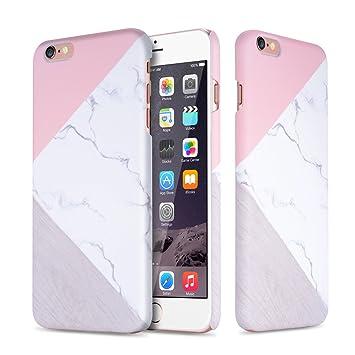 Leobray - Carcasa para iPhone 6, iPhone 6S, diseño de mármol ...