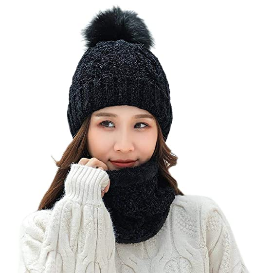 b68bc582053 Image Unavailable. Image not available for. Color  Putars Hat   Scarf