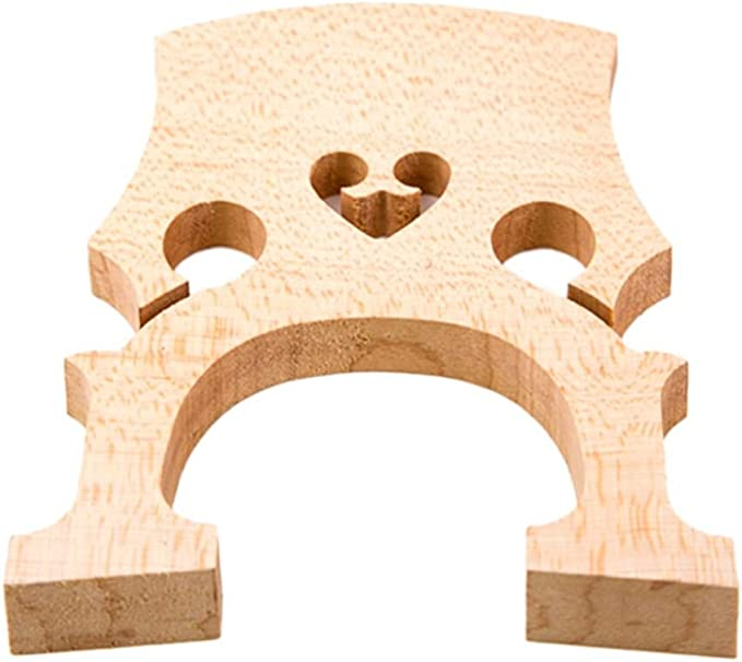 DLuca Unfitted Standard Cello Bridge 4//4