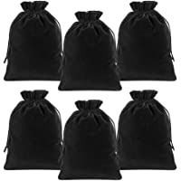 Lucky Monet 25/50/100PCS Velvet Drawstring Bags Jewelry Pouches for Christmas Birthday Party Wedding Favors Gift Candy…