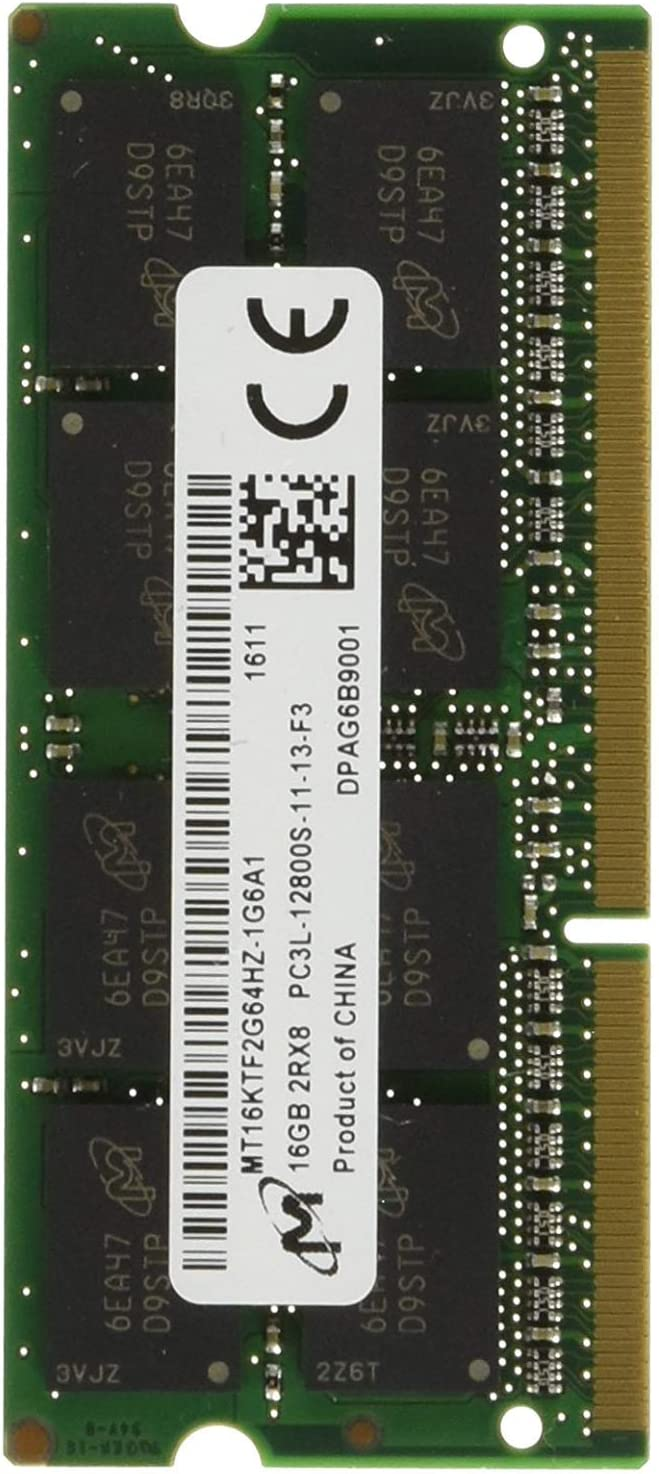 Lenovo Lenovo 4X70J32868 Factory Direct Item ONLY Lenovo 16GB DDR3L-1600 SODIMM 16 DDR3 1600 (PC3 12800) 4X70J32868