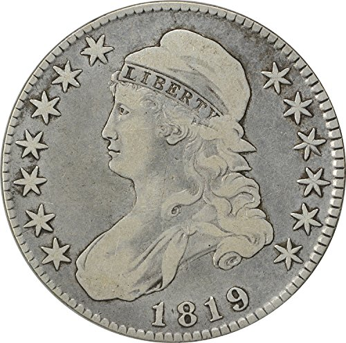 1819 Bust Half F