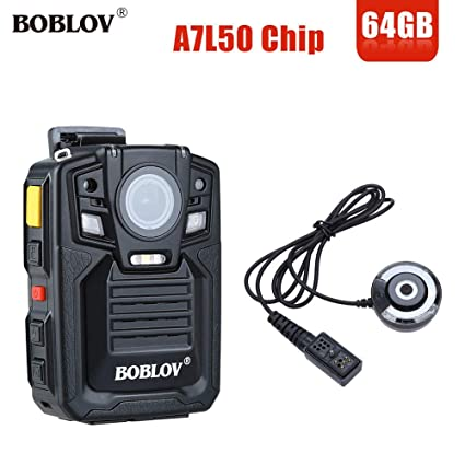 Amazon.com : boblov hd 1290p Police 33mp Security External ir Infrared Lens Body Worn Camera Night Vision Motion Detection Portable Personal : Camera & ...