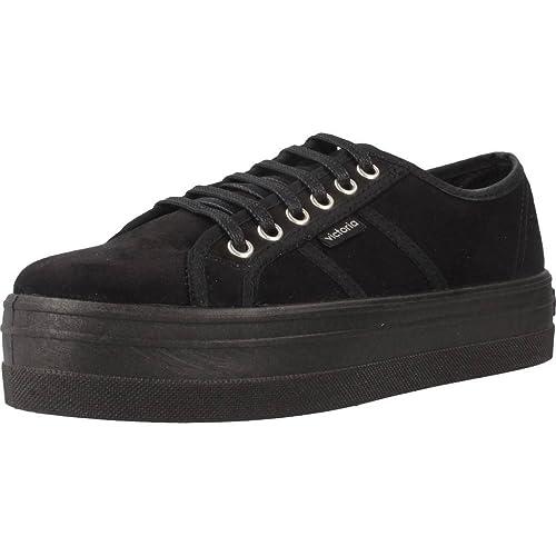 Victoria Women's Blucher Antelina Plataforma Sneakers Size: 11 Child UK