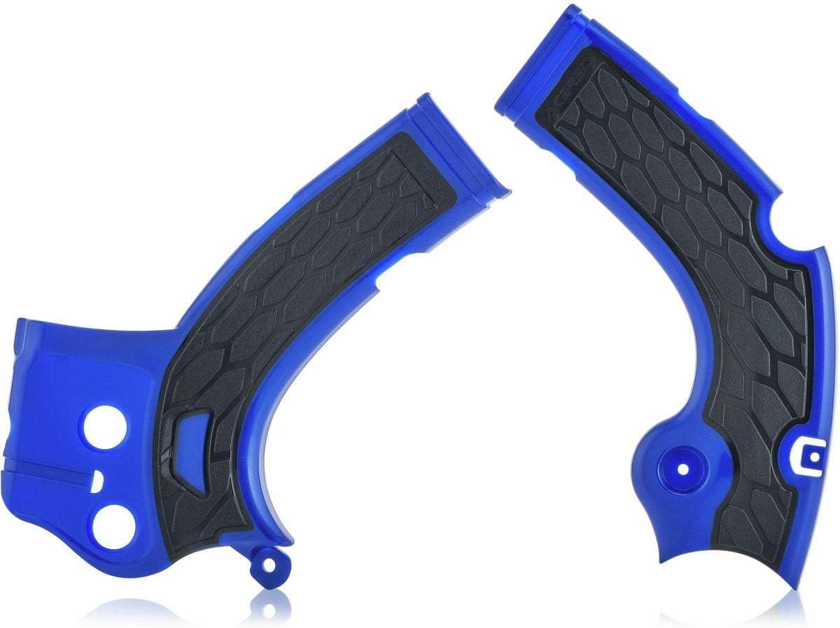 Acerbis 17-18 Yamaha YZ250F X-Grip Frame Guard White//Black