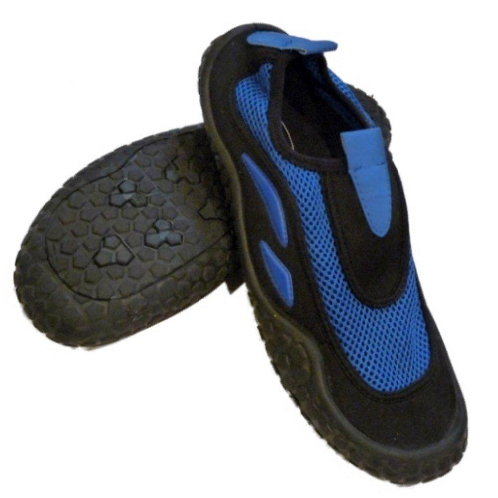 [Sand N Sun] メンズブルー&ブラックAquaソックスビーチ&水靴 8 D(M) US  B0089PBXMW