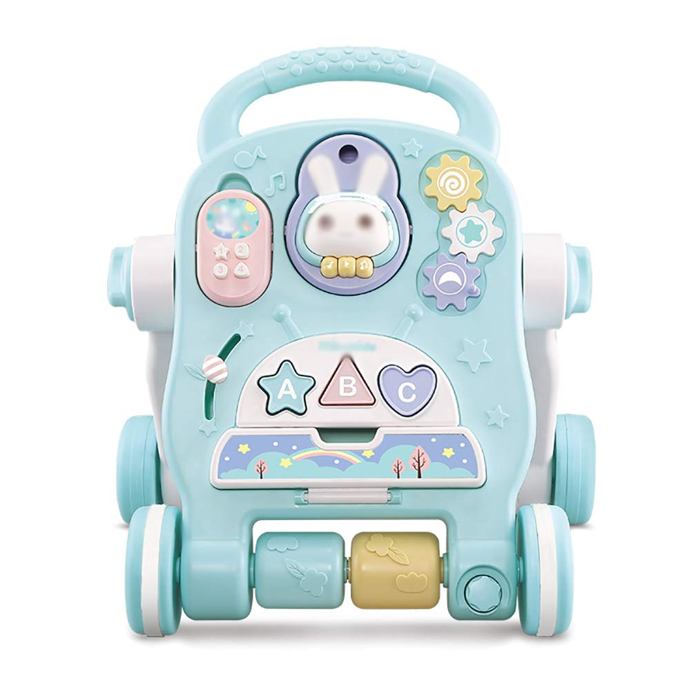 GUO@ Baby Toddler Walker Trolley para niños Prevención de vuelco ...