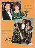 Wayne Gretzky & John Vanbiesbr