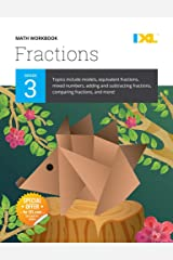 IXL | Grade 3 Fractions Math Workbook | Fun Math Practice for Ages 8-9, 112 pgs Paperback