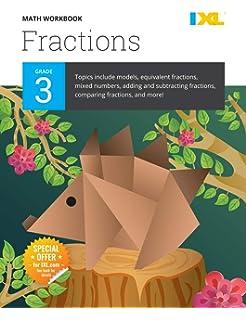 IXL Math Workbook, Grade 3: IXL Learning: 9781548655228: Amazon com