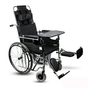 DPPAN Drive Medical Transport Silla de ruedas Mesa de comedor plegable liviana, reposapiés de elevación