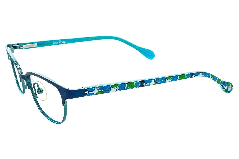 fc7c601fc5f2 LILLY PULITZER Eyeglasses SAMMI Navy 45MM at Amazon Men s Clothing store