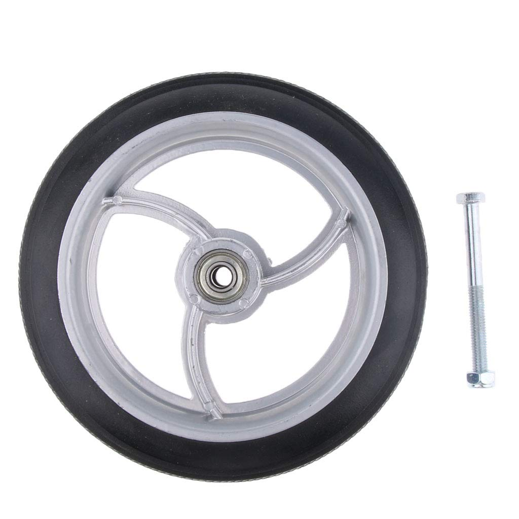 F Fityle Manual//Electric Drive Wheelchair Front Castor Wheel Gray 7 inch 3 Sizes to Choose