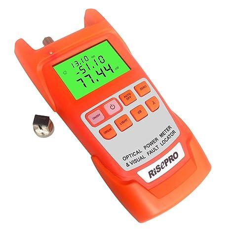 2 en 1 probador de cable óptico medidor de potencia de fibra óptica Cable Tester -70, ...