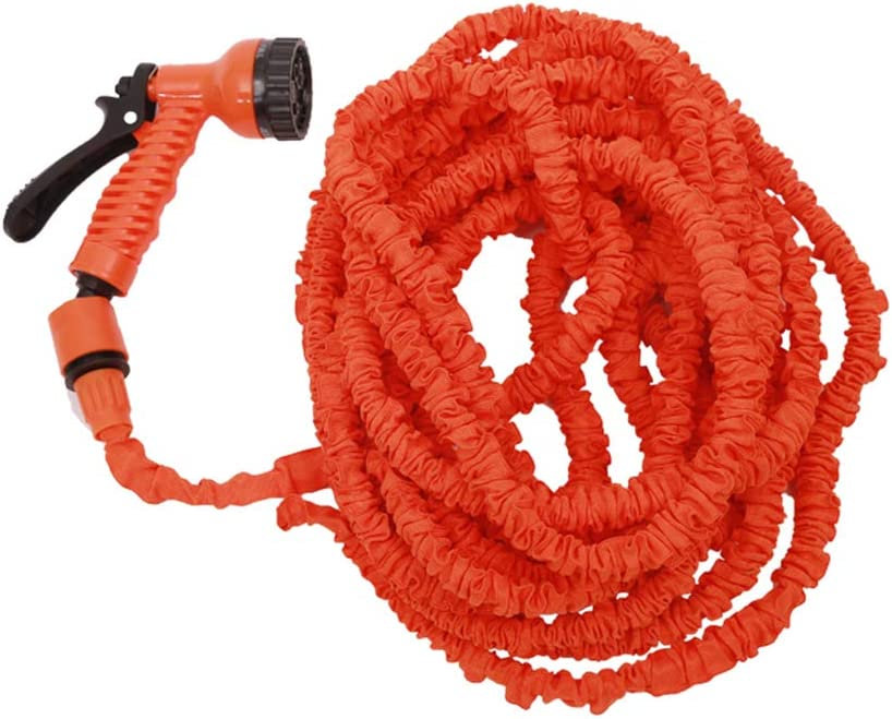 HEEGNPD 25FT-250FT Garden Hose Expandable Magic Flexible Water Hose EU Hose Plastic Hoses Pipe with Spray Gun to Watering Car Wash Spray