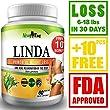 LINDA - Weight Loss Pills for Women & Men, Herbal Diet Supplements, Natural Fat Burner and Appetite Suppressant that work fast, Best diet pills +10 pcs