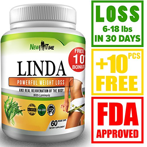 LINDA-Weight-Loss-Pills-for-Women-Men-Herbal-Diet-Supplements-Natural-Fat-Burner-and-Appetite-Suppressant-that-work-fast-Best-diet-pills-10-pcs
