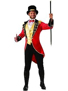 4874f245d Amazon.com: Adult Mens Cheeky Ringmaster Lion Tamer Carnival Circus ...