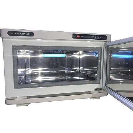 18L Calentador y UV Esterilizador de Toallas para Centros Estéticos