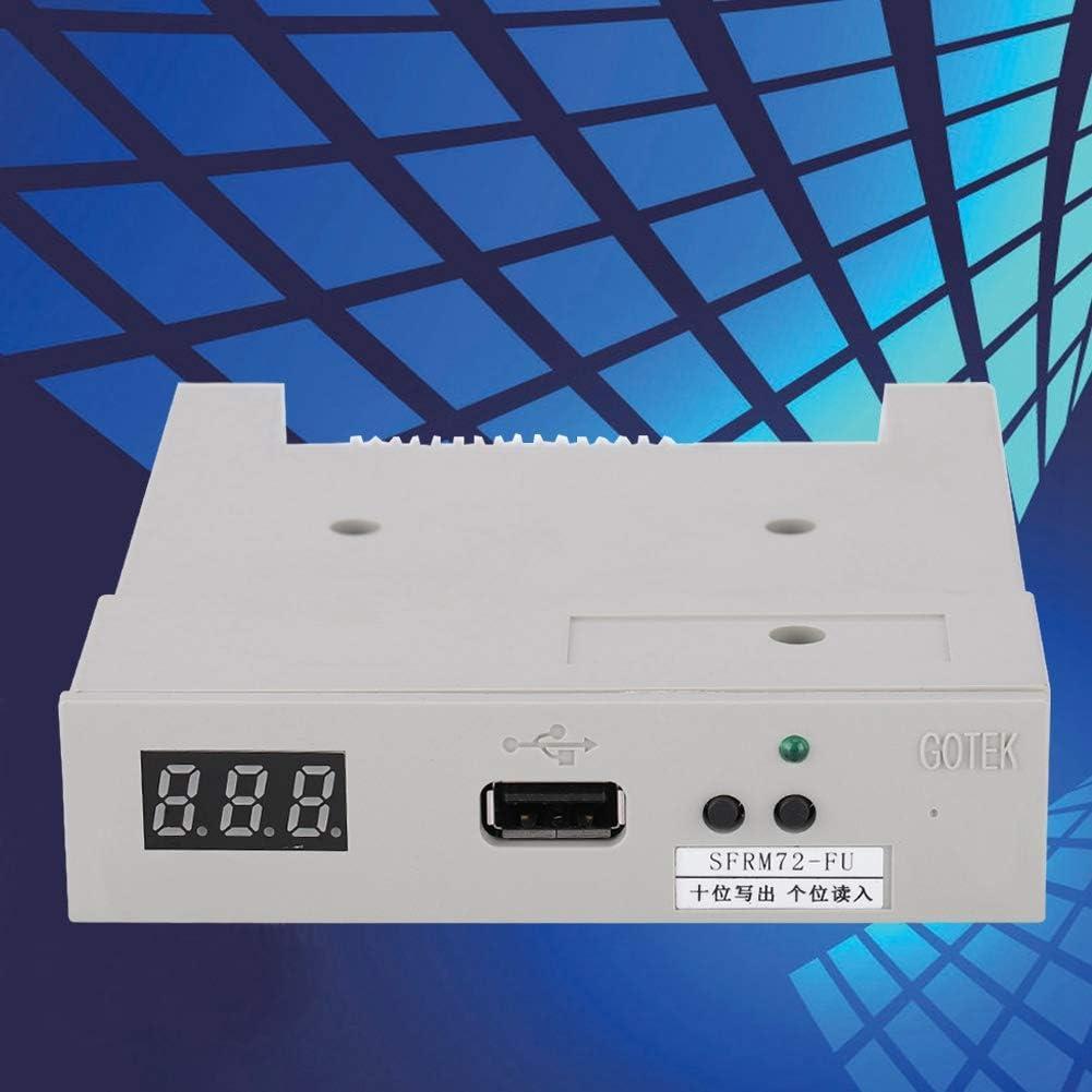 fosa 720KB SFRM72-FU USB SSD Floppy Drive with 32-bit CPU Design//720K Floppy Drive ABS,Drive Emulator for Tajima Happiness BEHRINGER