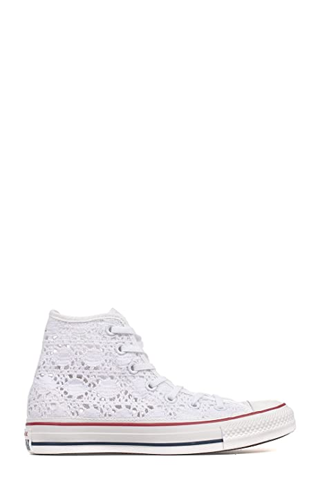 Hi Sneakers Converse Canapa it Donna Top Amazon Bianco 549310c dEEZqO4