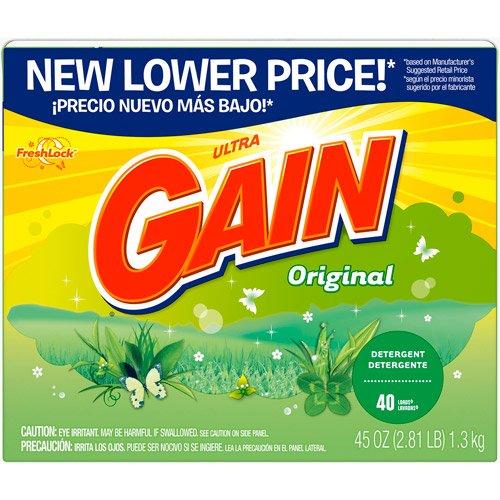 Gain 84932 45 Oz Original Scent Gain Ultra Powder - Priority Global Mail