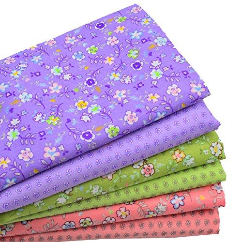 Cotton Fat (iNee Fat Quarters Quilting Fabric Bundles, Cotton Fabric for Quilting)