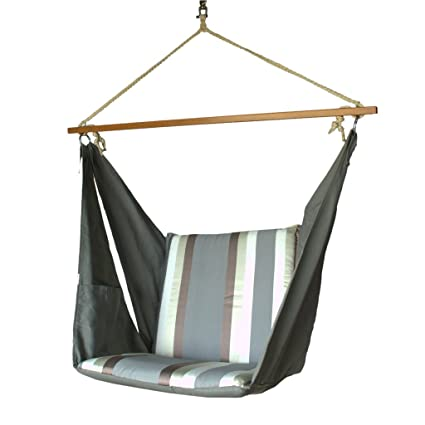 Slack Jack Butterfly Fabric Swing (Grey, White and Brown)