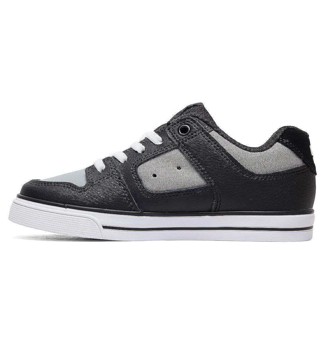 DC Shoes Pure Elastic, Sneakers Basses Garçon Noir (BlackMulti), 30.5 EU (12 UK)
