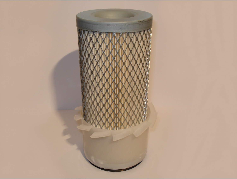 cil/índrico Filtro de aire para tractor 184 x 83 x 43 mm mini-Pala recortadora