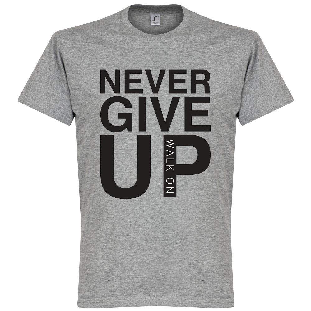 Maglietta da Bambino Grigio Retake Never Give Up Liverpool Colore