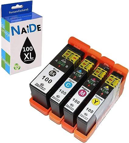 Amazon.com: NAIDE - Cartucho de tinta de repuesto para ...