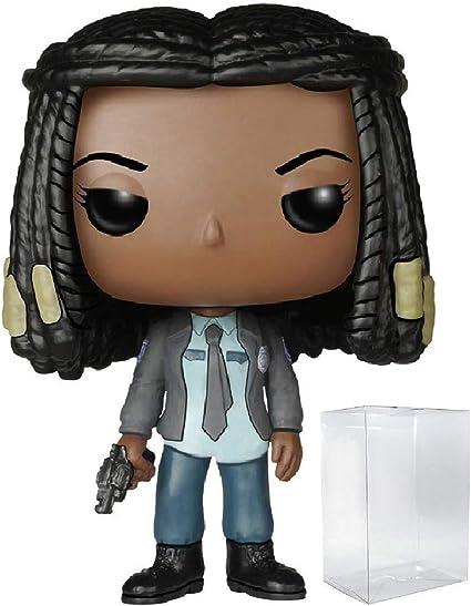Vinyl Figure Michonne Funko Pop Includes Compatible Pop Box Protector Case Walking Dead