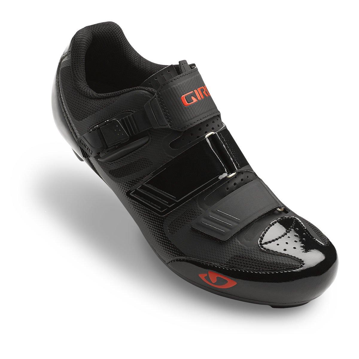 Giro メンズ Giro 40.5 EU Black / Bright Red B015T72A4M