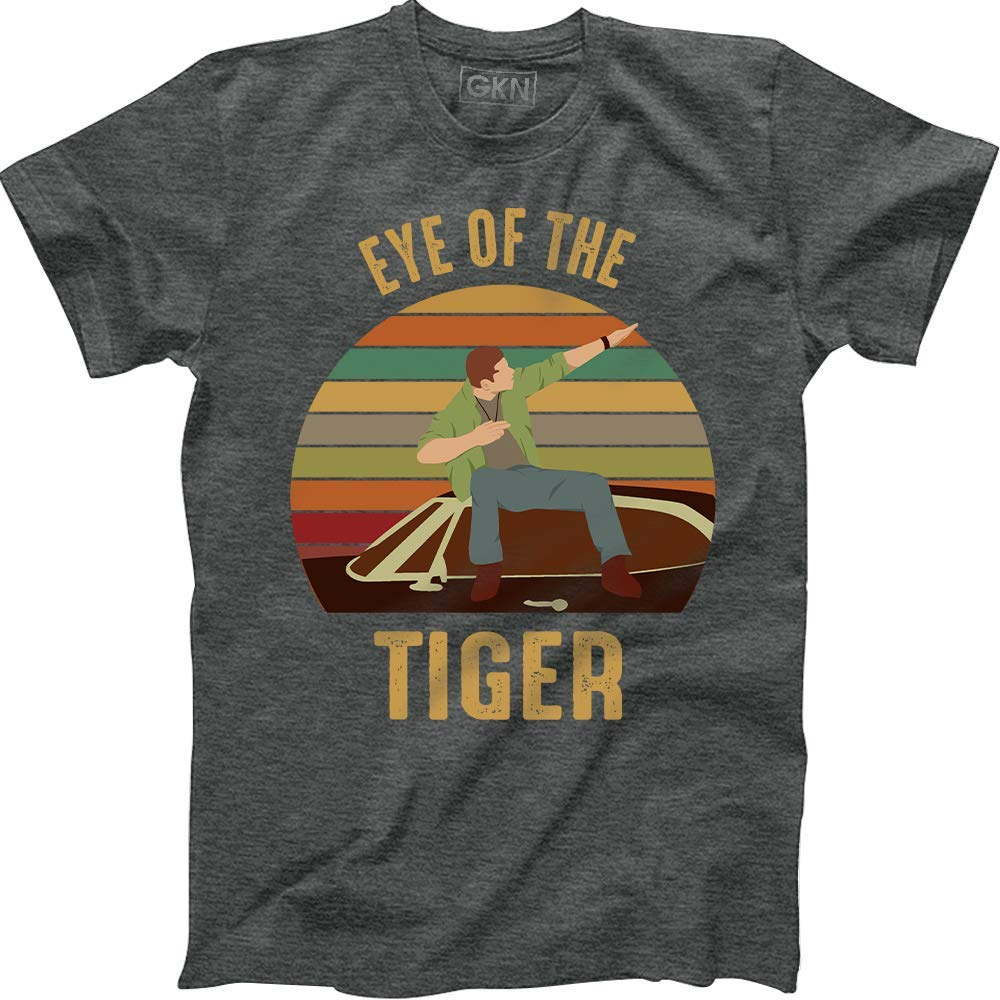 Eye Of The Tiger Vintage Retro Dean Winchester Supernatural 4138 Shirts