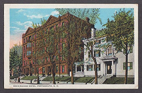 (Rockingham Hotel Portsmouth NH postcard 1923)