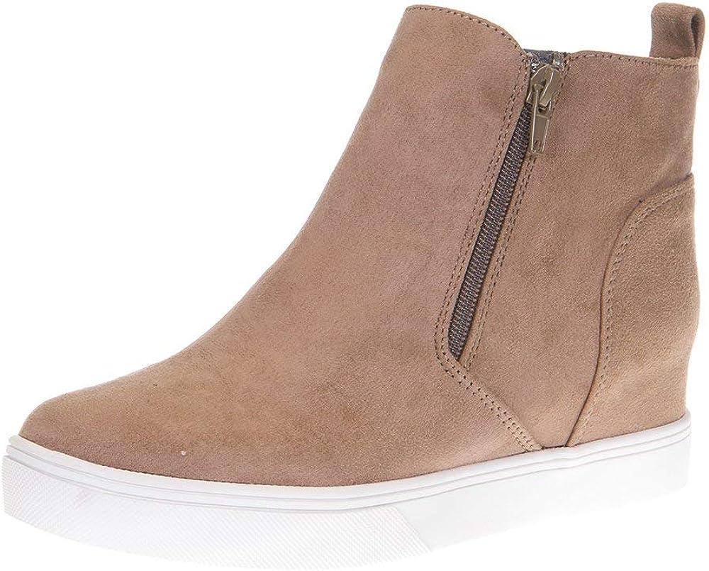 Corkys Footwear Womens Hunt Black Wedge Casual