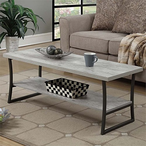 Convenience Concepts X-Calibur Coffee Table, Faux Birch