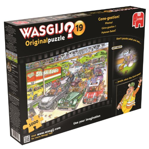 Jigsaw - Wasgij - No.19 - Cone-gestion - 1000 Pieces