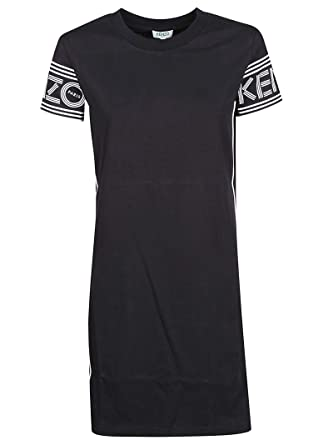 944cdac2 Kenzo Women's F952RO89498599 Black Cotton Dress: Amazon.co.uk: Clothing