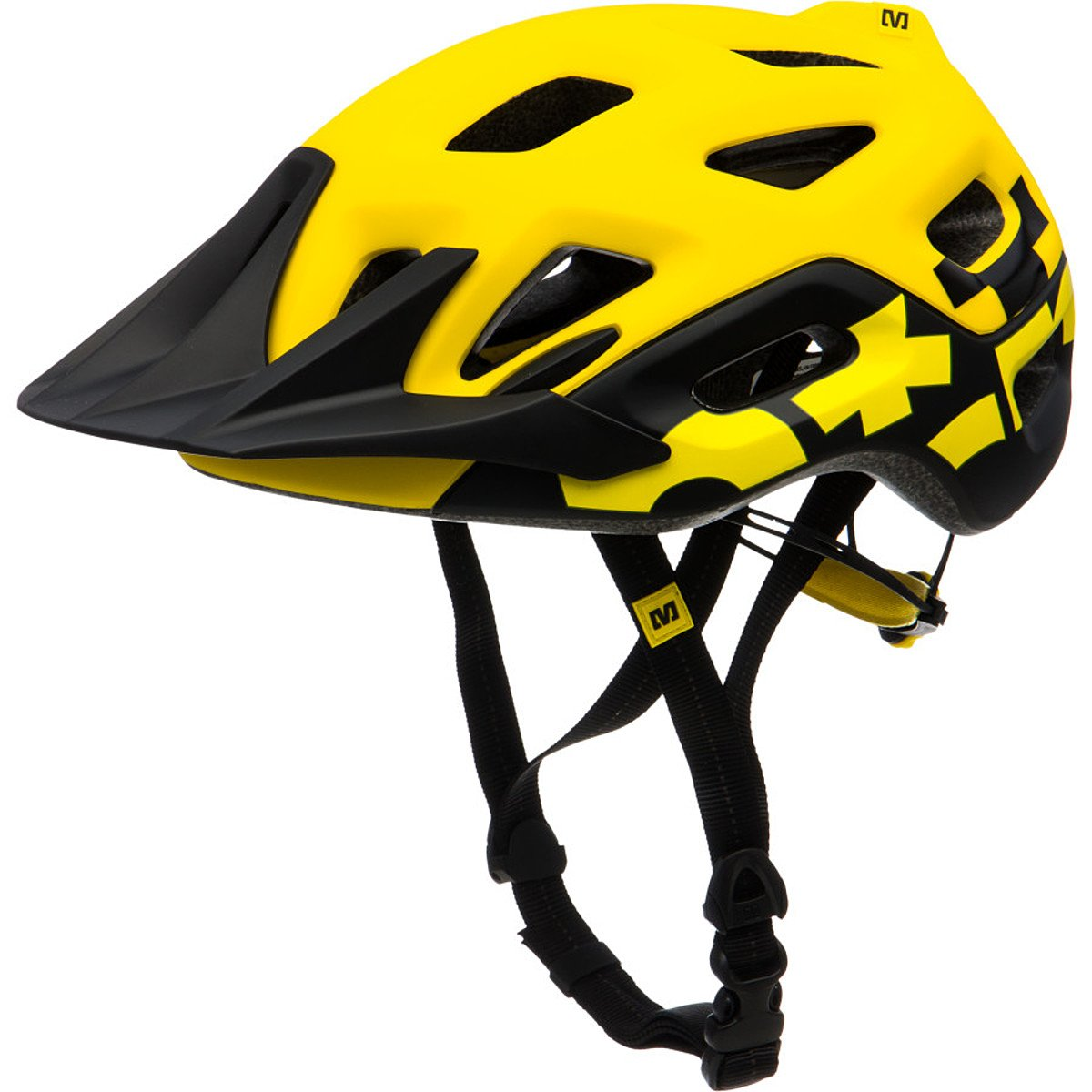 Mavic Yellow Black Yellow Black Head Circumference 54-59 cm Mountain Bike Helmet