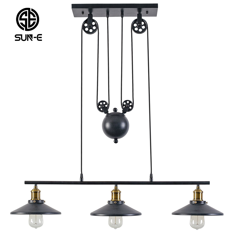 Ceiling Lights & Fans Solar Edsion Bulb Pendant Lamp Retro Balcony Garden Ceiling Hanging Light Chandeliers