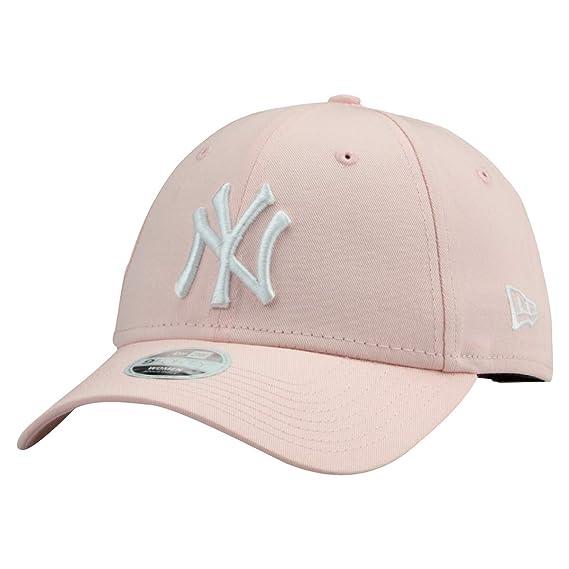 New Era 9Forty - Cappellino da Baseball - Uomo 1 NY Pink 5035 Taglia Unica 9efd6ea33451