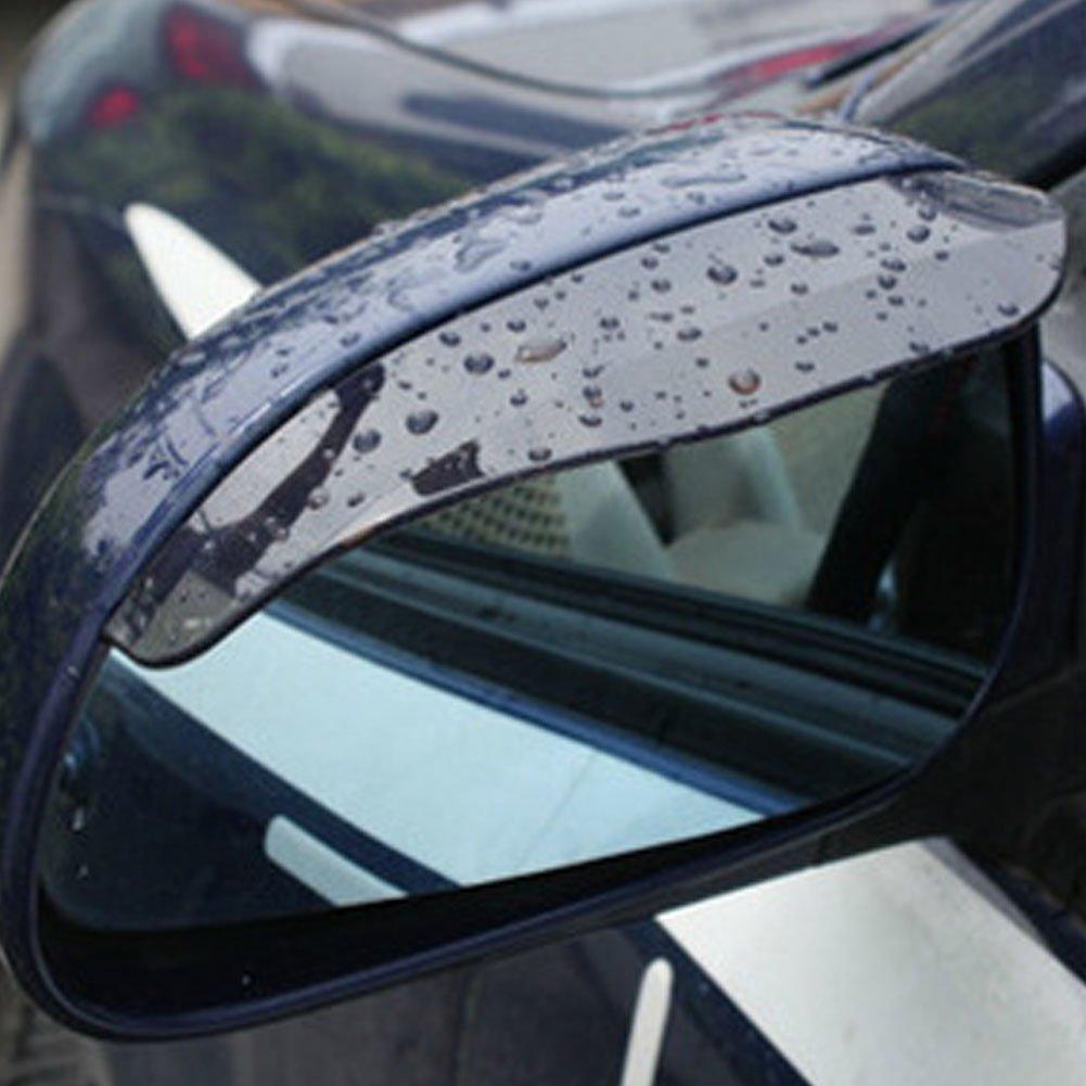 Auto specchietto retrovisore pioggia sopracciglio Christine Rain Shield copertura 2PCS