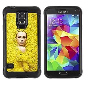 LASTONE PHONE CASE / Suave Silicona Caso Carcasa de Caucho Funda para Samsung Galaxy S5 SM-G900 / Fashion Spring Woman Design