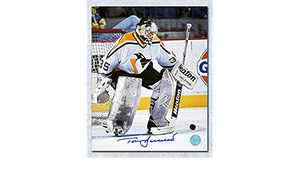 Tom Barrasso Pittsburgh Penguins Autographed Stick Save 8x10 Photo at  Amazon s Sports Collectibles Store e486ab955